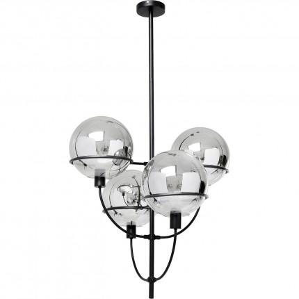Pendant Lamp Lantern 4rs Black Kare Design