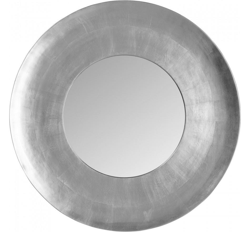 Miroir mural Planet argenté Ø108cm