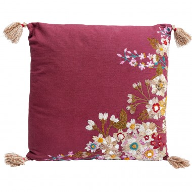 Coussin Embroidery Blossom 50x50cm