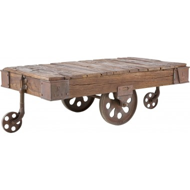 Coffee Table Railway 135x80cm Kare Design