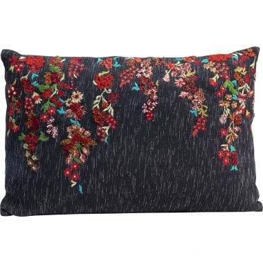 Coussin Embroidery Tendrils 60x40cm