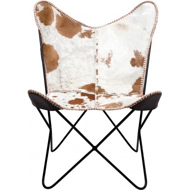Armchair Butterfly Fur Kare Design