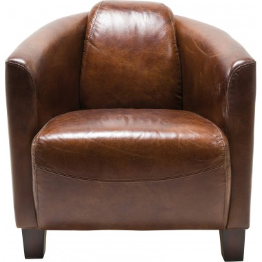Armchair Cigar Lounge Brown Kare Design
