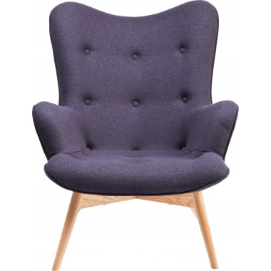 Fauteuil  Angels Wings Gris Kare Design