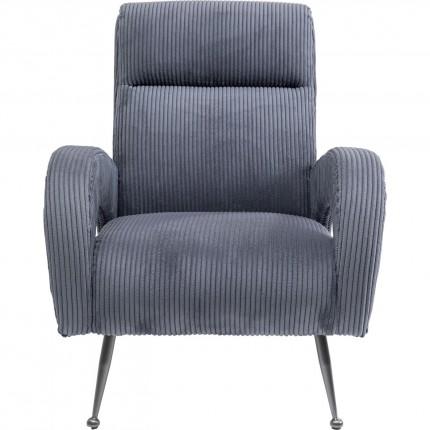 Armchair Berat Grey Kare Design