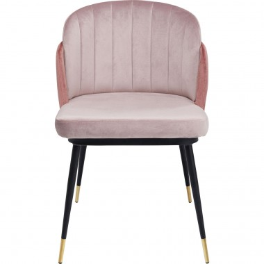 Chaise Hojas rose