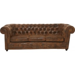 Sofa Oxford Vintage 3-zitsbank Kare Design