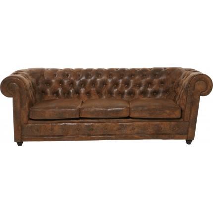 Sofa Oxford 3-Seater Vintage Econo Kare Design