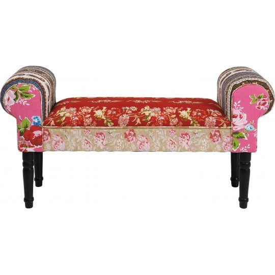 Bench Wing Patchwork Red Kare Design