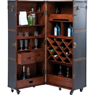 Wardrobe Trunk Bar Colonial Kare Design