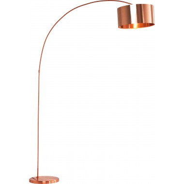 Floor Lamp Gooseneck Copper Kare Design