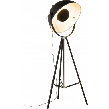 Floor Lamp Bowl Black Kare Design