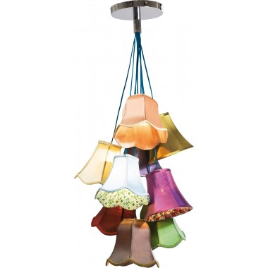 Pendant Lamp Saloon Flowers 9 Kare Design