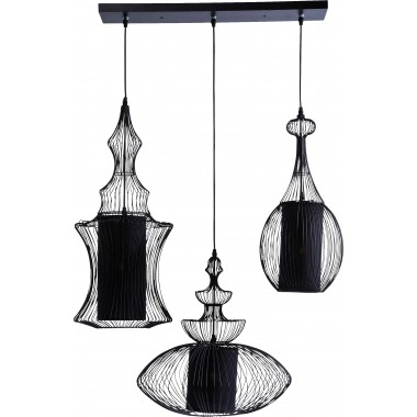 Pendant Lamp Swing Iron Tre Kare Design