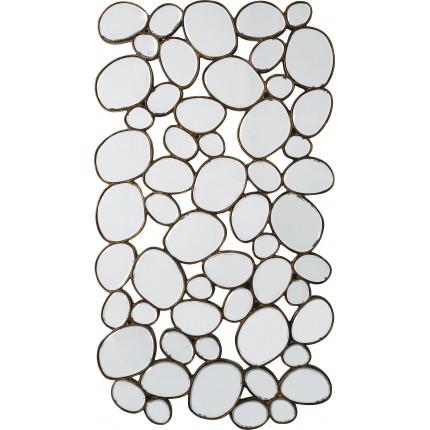 Mirror Water Drops Copper 135x78 Kare Design