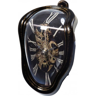 Table Clock Flow Antique Kare Design