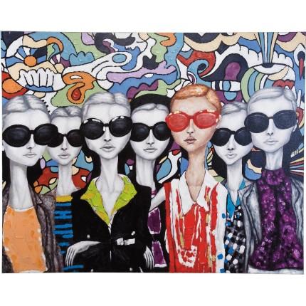Oil Painting Sunglasses 120x150cm Kare Design