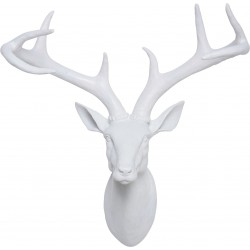 Deco Head Deer White Kare Design