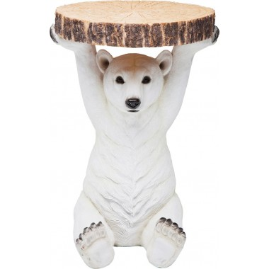 Side Table Animal Polar Bear Ø37cm Kare Design