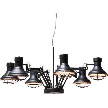 Pendant Lamp Spider Multi 6-lite Kare Design