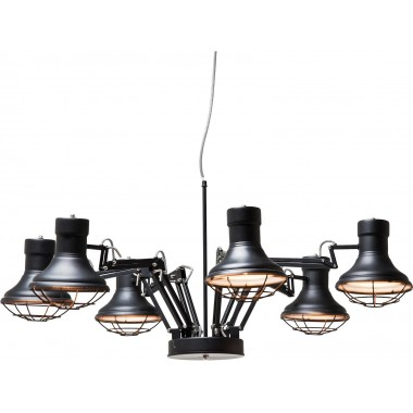 Pendant Lamp Spider Multi 6-lite Kare Design