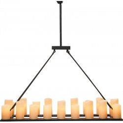 Suspension Candle Light 20 bougies Kare Design