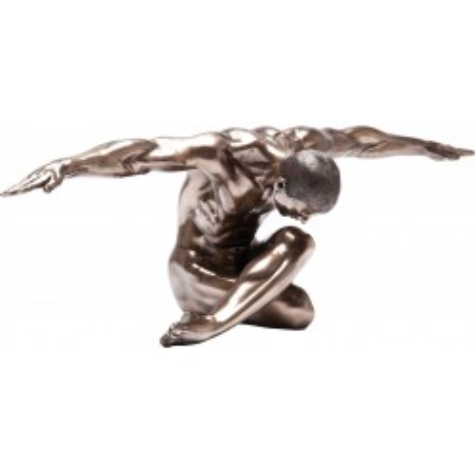Deco Nude Man Bow 137 cm Kare Design