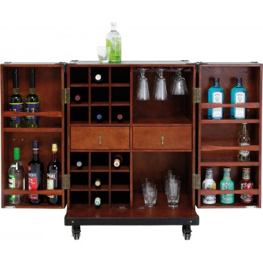 Wardrobe Trunk Bar Colonial Medium Kare Design