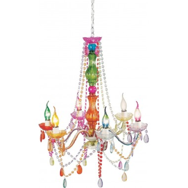 Pendant Lamp Starlight Rainbow 6-Branched Kare Design