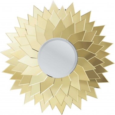 Mirror Sunflower Round Ø120cm Kare Design