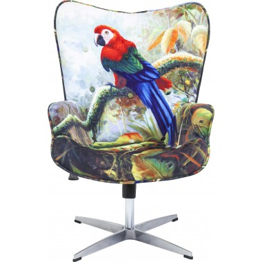 Swivel Chair Jungle Fever Kare Design