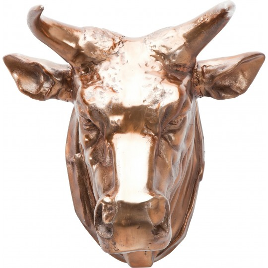 Deco Head Buffalo Copper Kare Design