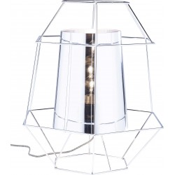 Table Lamp Wire Silver Kare Design