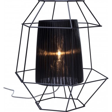 Table Lamp Wire Black Kare Design