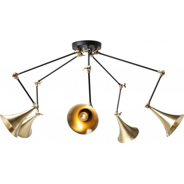 Suspension Trumpet Spider 5 cuivre Kare Design