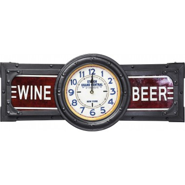 Décoration lumineuse Wine Beer Time Kare Design
