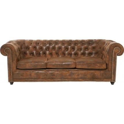 Sofa Cambridge 3-Seater Vintage econo Kare Design