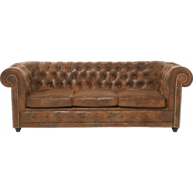 Brown Chesterfield Sofa Oxford