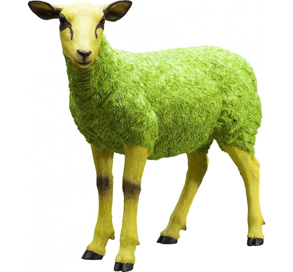 Deco Figurine Sheep Colore Green Kare Design