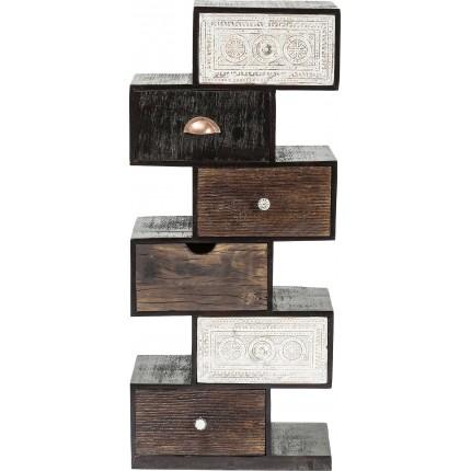 Dresser Zick Zack Finca 6Drw. Kare Design