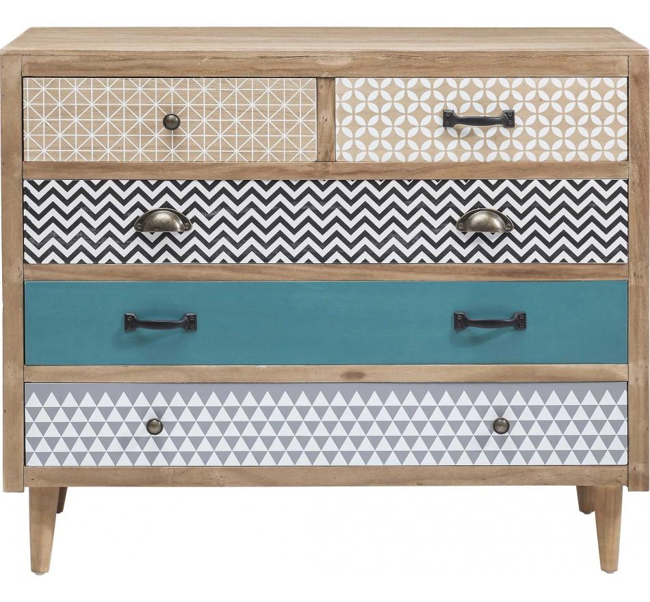 Dresser Capri 5Drw 90cm Kare Design