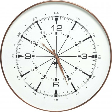 Wall Clock Navigator Kare Design