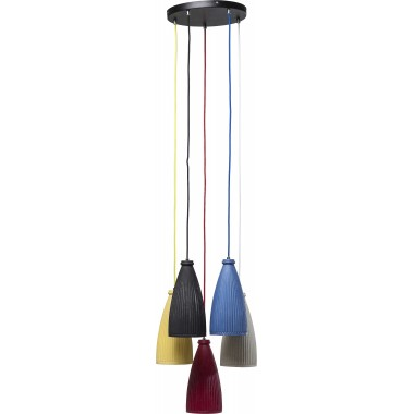 Pendant Lamp Art Colore Spiral 5-lite Kare Design