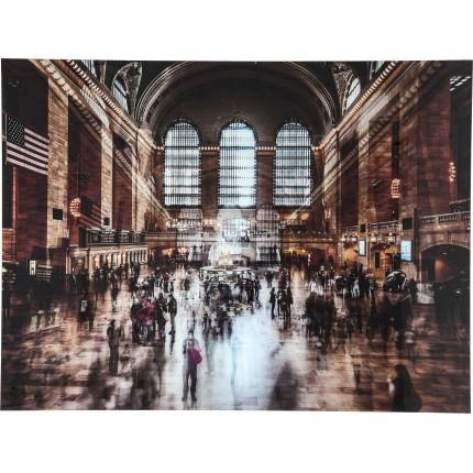 Wandfoto Grand Central Station 120x160cm Kare Design
