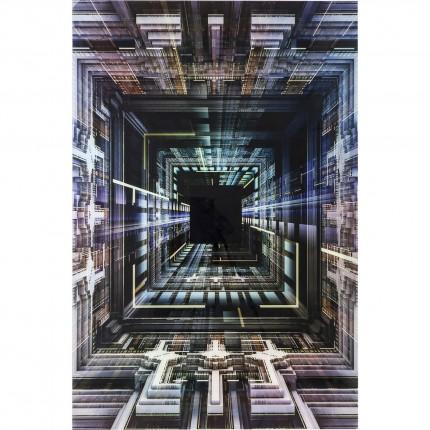 Tableau en verre Science Fiction 120x180 Kare Design