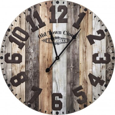 Wall Clock Old Town Kare Design