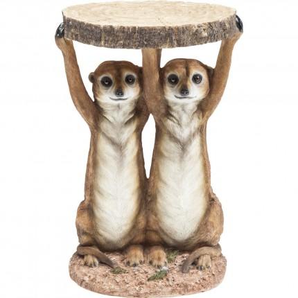 Side Table Animal Meerkat Sisters Ø33cm Kare Design