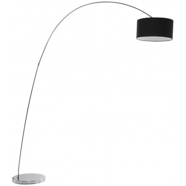 Floor Lamp Gooseneck Black Kare Design