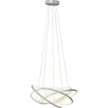 Pendant Lamp Saturn LED White Big Kare Design