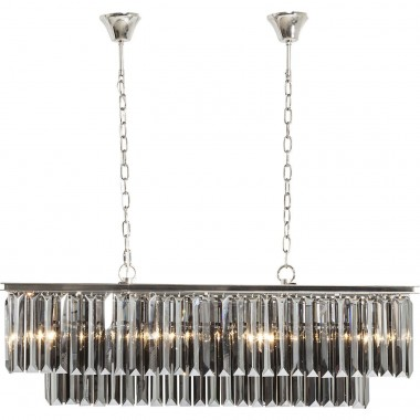 Pendant Lamp Smoky Lounge Rectangular Kare Design